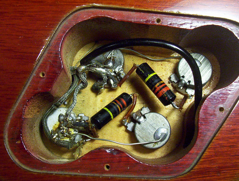 modern les paul wiring in untouched 59