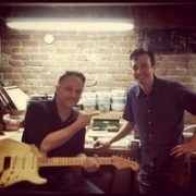 Eric Daw and Jimmie Vaughan