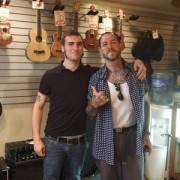 Frank with Mike Ness of Social Distortion
