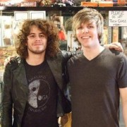 Trevor with Ian Crawford from Panic