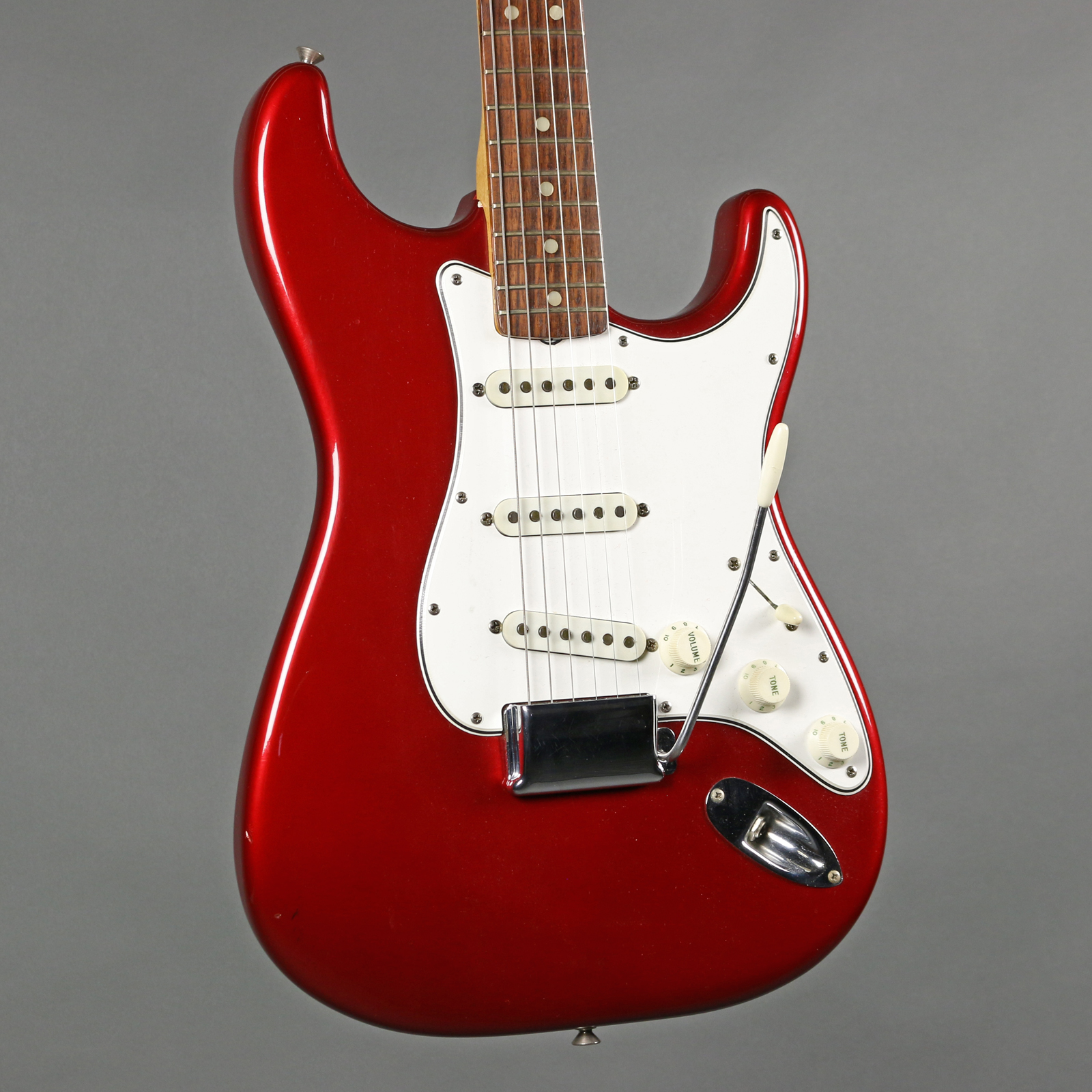 1965 fender stratocaster candy apple red emerald city guitars